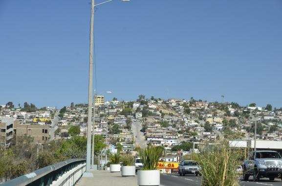 View of a part of Tijuana/ vue d'une partie de Tijuana